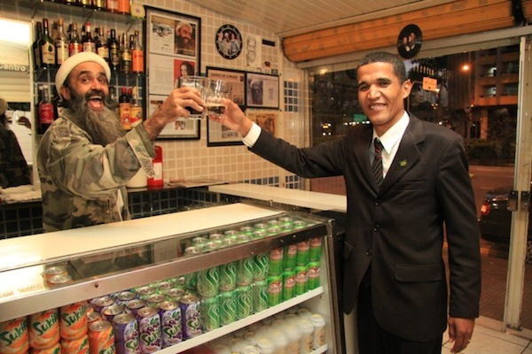 Obama Osama 4 When Obama Met Osama