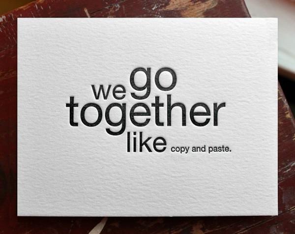 wegotogetherlike 3 we go together like...