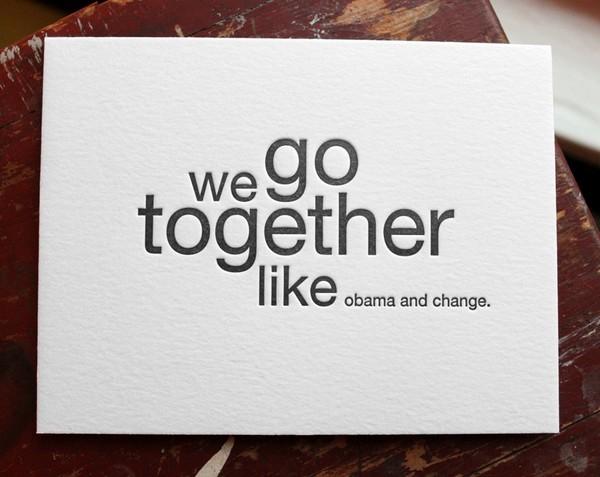 wegotogetherlike 4 we go together like...