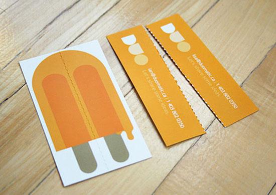 Thegrid duo business cards l 40 unique business card designs colourmoves