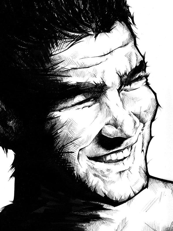 hd2b Impressive Hand Drawn Portraits