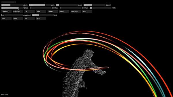 kinect graff   04 Kinect Graffiti™ : 3D Light Painting Madness !