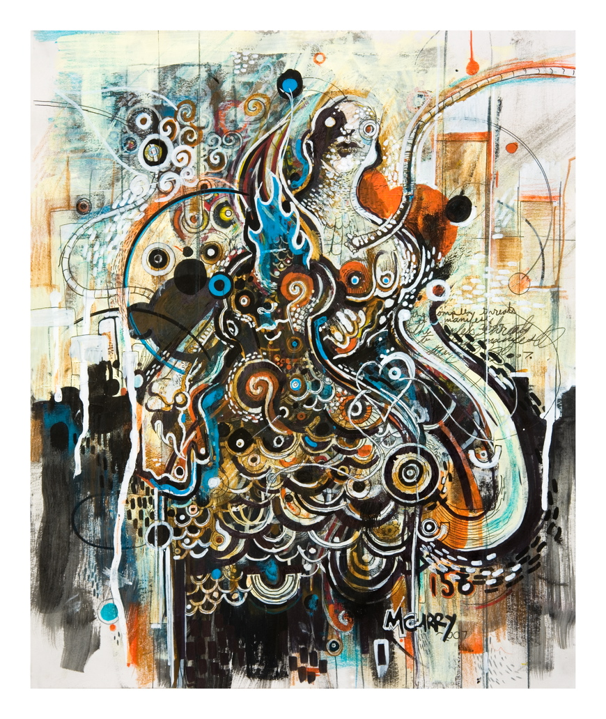 mc3b Paintings by Matt Curry