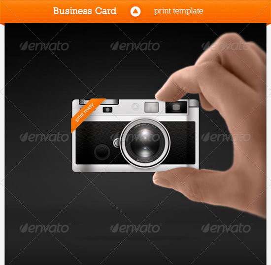 photographer business card Unique Business Card Templates
