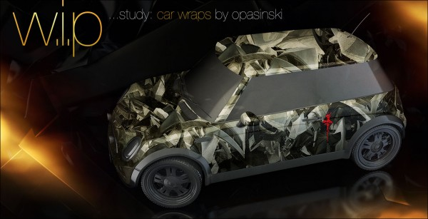 tao carwrap 014 600x307 Tomasz Opasinski   W.I.P Car Wraps...