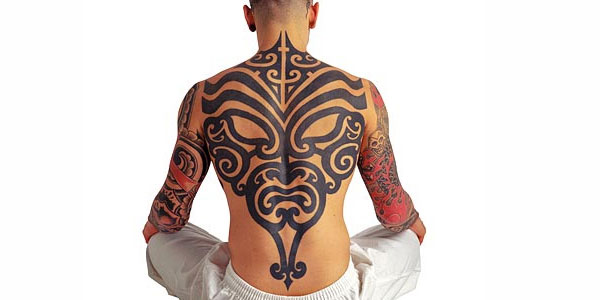 tribal back tattoo udi7e0y34w 35 Awesome Tribal Tattoos For Men