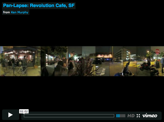 Pan Lapse Revolution Cafe1 Pan Lapse : Revolution Cafe