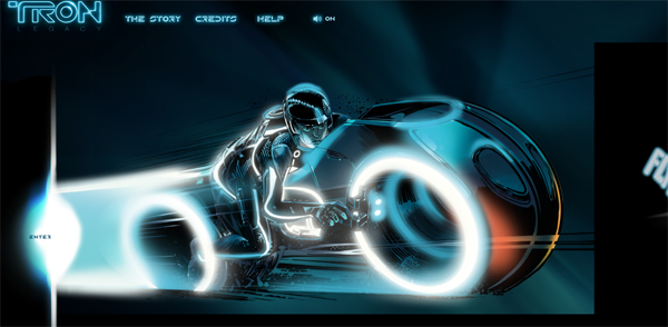 Tron Legacy 2011 07 12 03 42 42 38 websites coded in HTML5 for your inspiration
