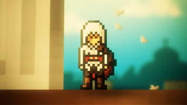 assassins creed 8bit animation 8 bit Assassins Creed
