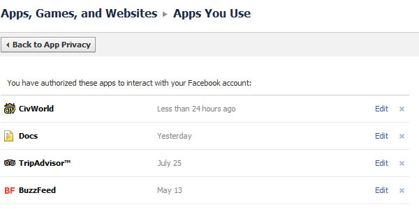 choose your privacy settings for apps games and websites cxuc31e2m 10+ Facebook Tips You Should Check