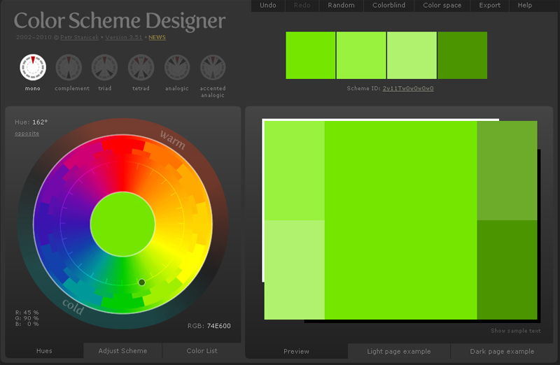 color scheme designer DYT 12 Useful Online Tools for Logo Designers – Recommendations!