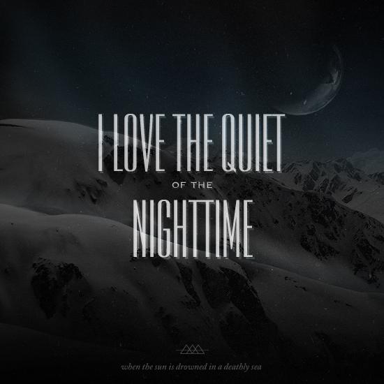 designersMX cover designers.mx Mixtape   I love the quiet of the nighttime