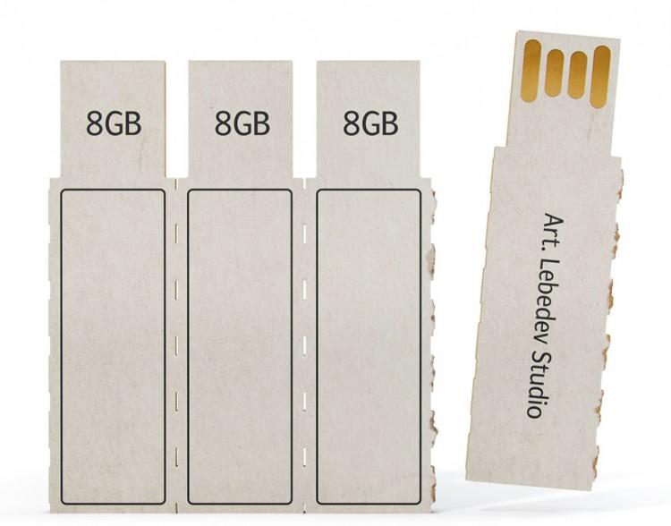 flashkus01 750x588 art. lebedev: flashkus disposable paper thumb drive