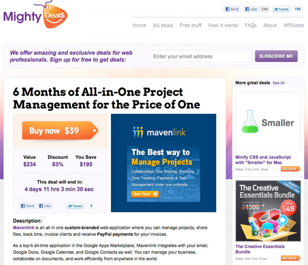 md5 6 Months of All in One Project Management for the Price of One