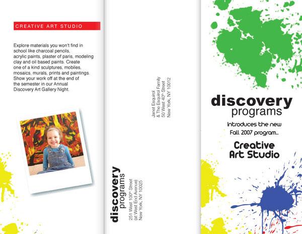 trifold brochure discovery programs jkx0fd3ldz 30 Creative Tri Fold Brochure Template Designs