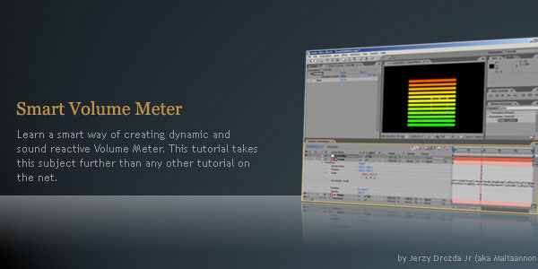 using expressions to create a volume meter djmg3ym7xj Ultimate Collection of Resources for After Effects Expressions