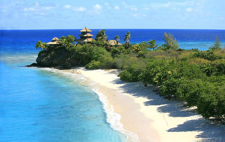 Richard Branson's $70 Million Caribbean Mansion on Necker Island
