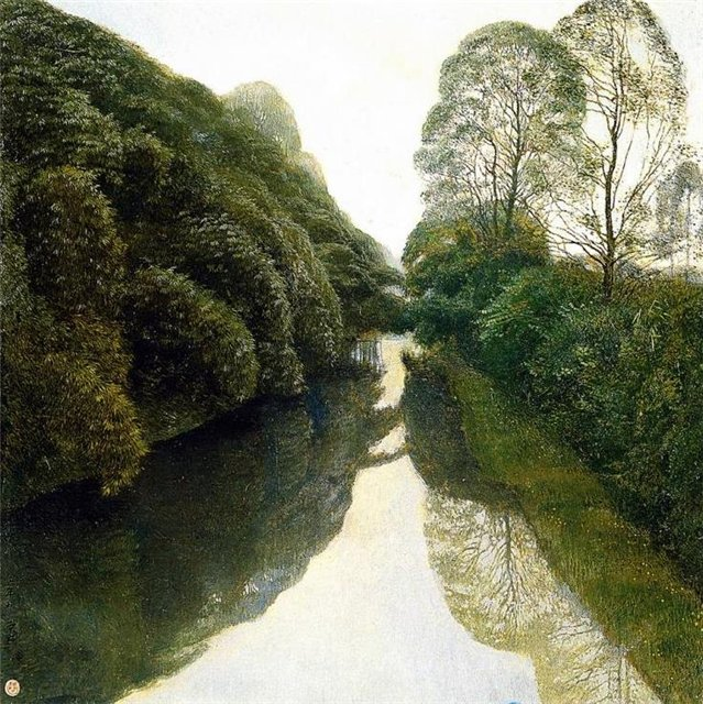 413818 Jian Chong Min Landscape Paintings