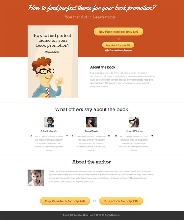 booker TK Freebie: Complete site layout   Booker (psd)