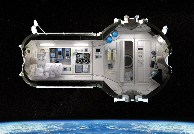 int 1 Space Vacation   Orbiting Hotel Ready For Guests by 2016