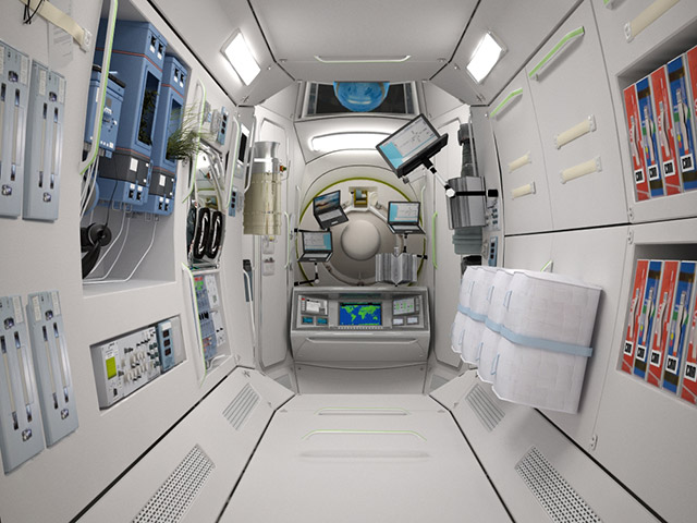 int 3 Space Vacation   Orbiting Hotel Ready For Guests by 2016