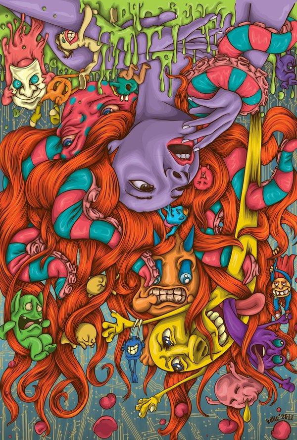 kd4d Kristy Anne Ligones illustrations