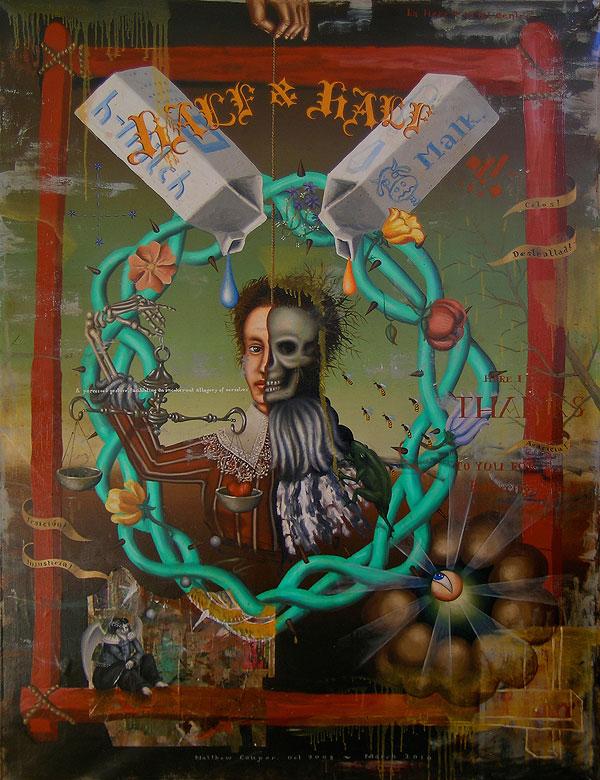 mc7a Matthew Couper paintings