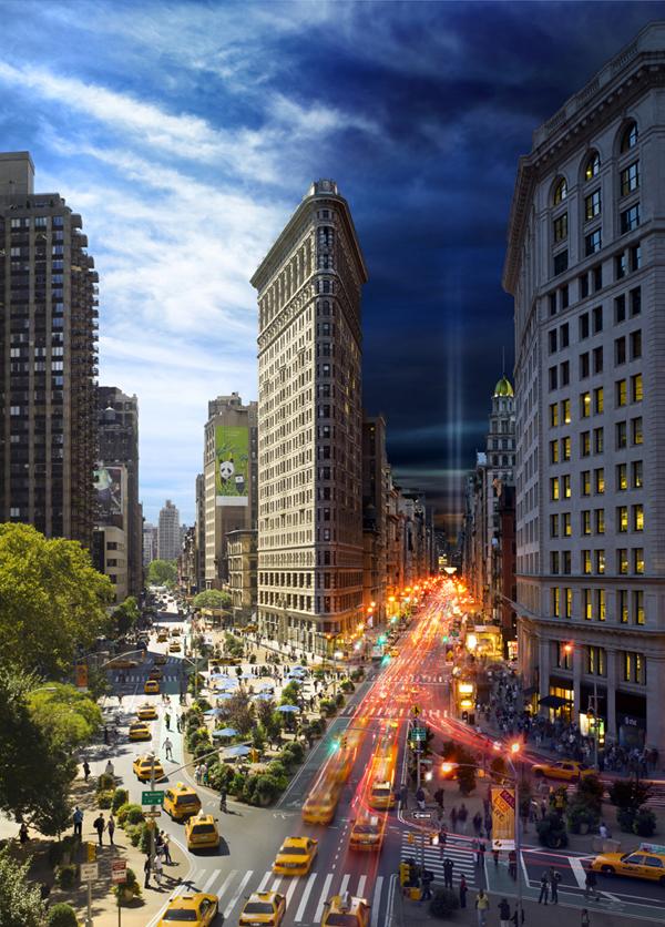 newyork daytonight 01 New York City from Day to Night (One Frame Photography)