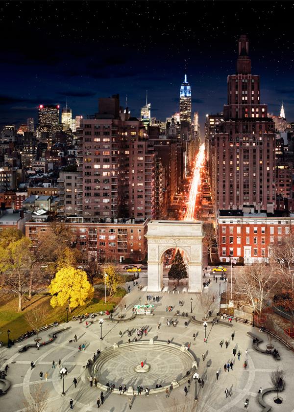 newyork daytonight 03 New York City from Day to Night (One Frame Photography)
