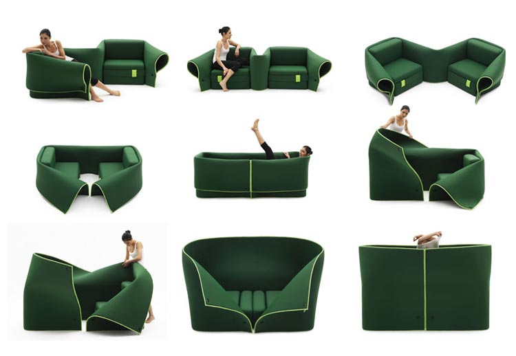 sosia Sosia  The Multifunction Sofa Set