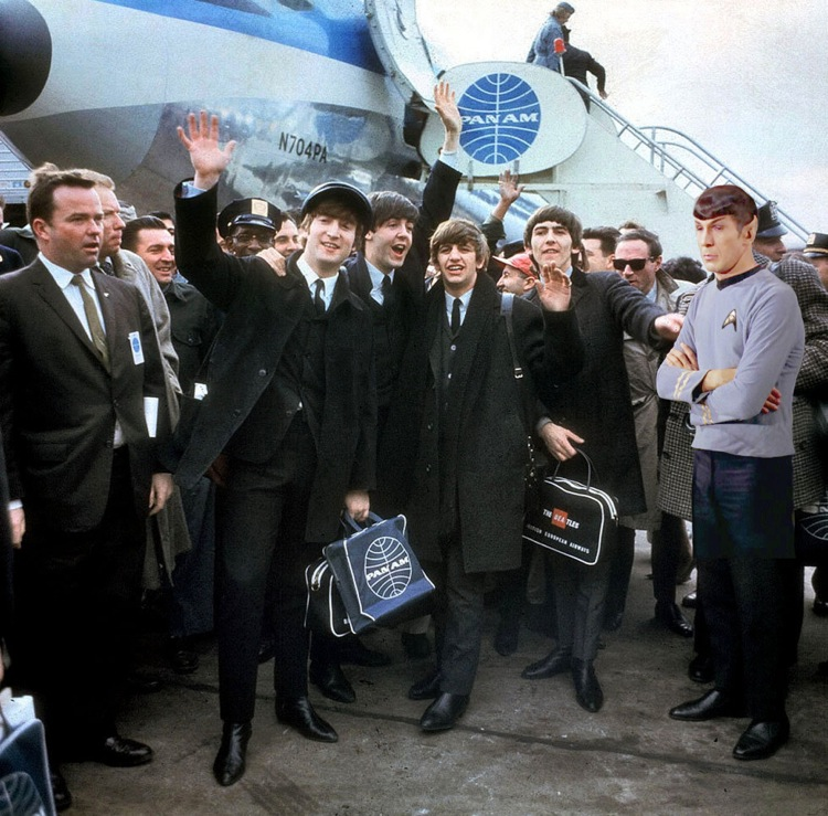 spock is not impressed beatles. spock is not impressed
