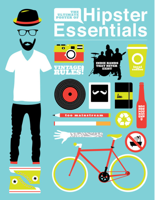 tumblr lpm6s9FNs71qjtvg7o1 r1 500 Hipster Essentials by Viet Huynh