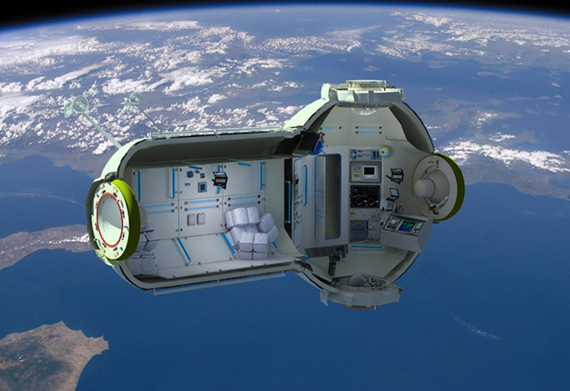 um 7 1 Space Vacation   Orbiting Hotel Ready For Guests by 2016