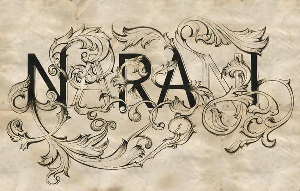 nk4a Typography by Narani Kannan