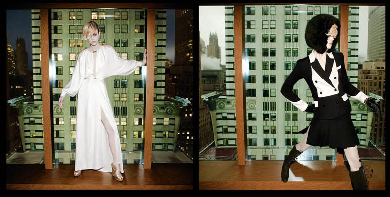 ysl1  Raquel Zimmermann for Yves Saint Laurent Fall 2011 Film