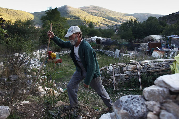 107 Forever Alone: A One Man Village in Greece