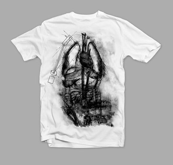 hb TShirt Unconventional T Shirt