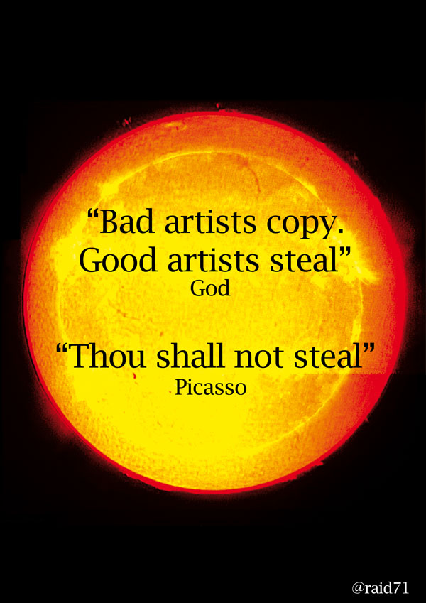 steal God Vs Picasso