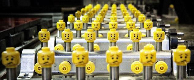 Lego Production Factory In Billund Denmark Design You