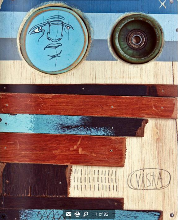 Picture 41 vista skateboard art magazine #39   Rio de Janeiro Issue