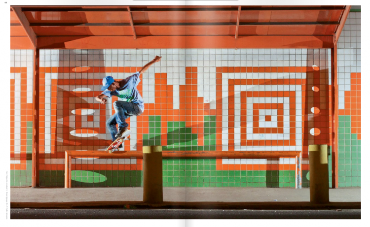 Picture 81 750x461 vista skateboard art magazine #39   Rio de Janeiro Issue