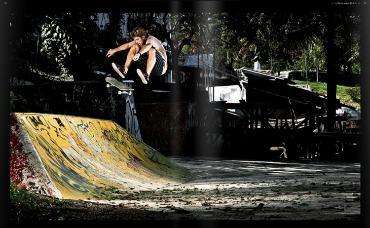 Picture 91 750x462 vista skateboard art magazine #39   Rio de Janeiro Issue