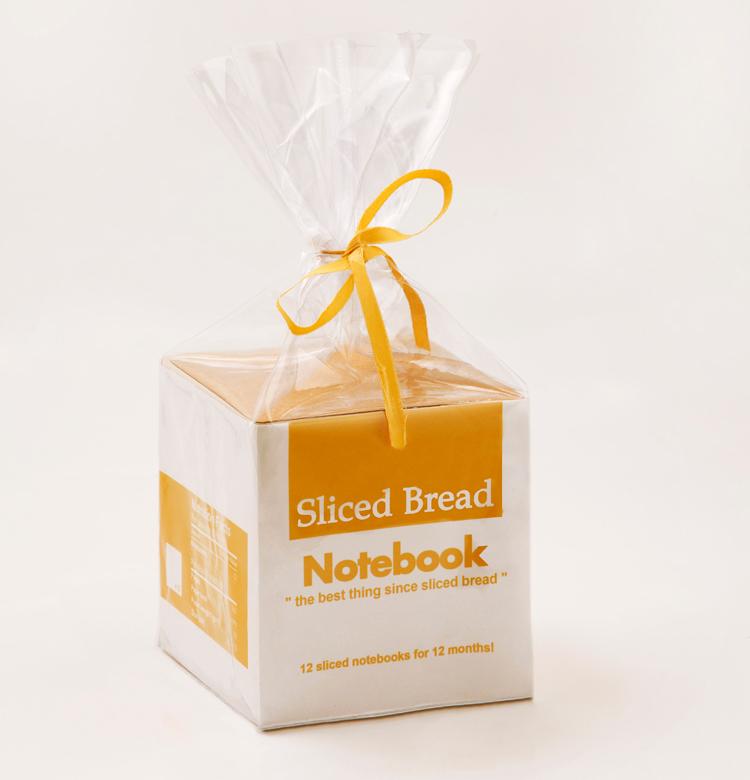 sliced bread pukkadank Sliced Bread Notebook