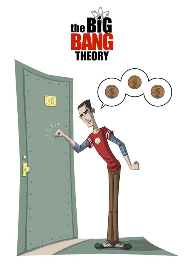 the big bang theory otis frampton penny penny penny big bang theory animated