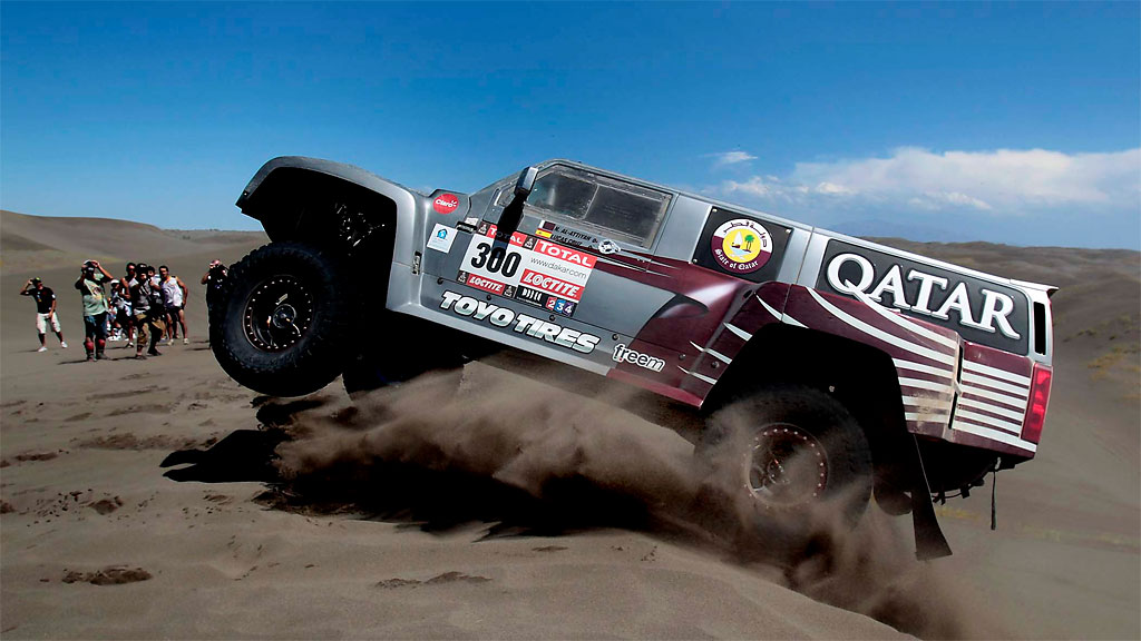 520 Dakar Rally 2012: The Worlds Most Challenging Off Road Endurance Race