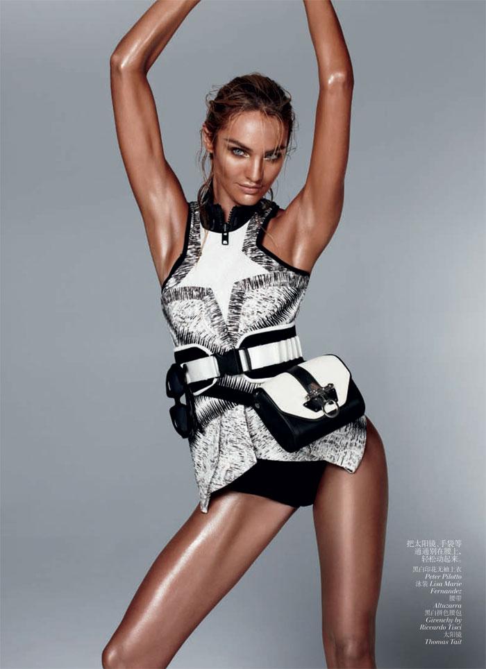 Candice Swanepoel Daniel Jackson7 Candice Swanepoel for Vogue China February 2012