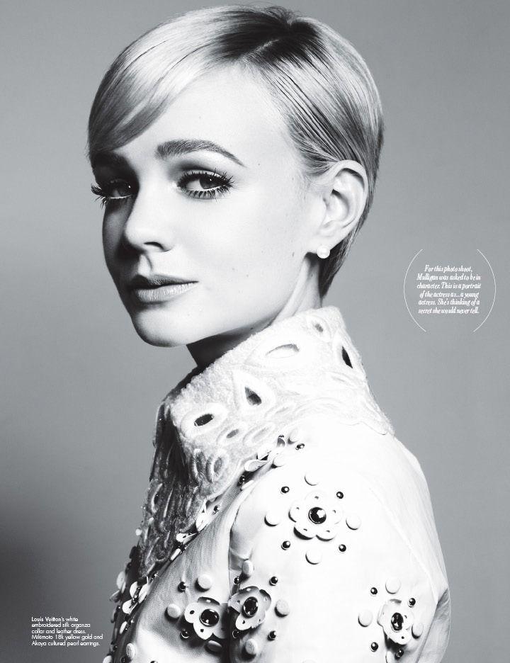 Carey Mx Carey Mulligan for W magazine January 2012