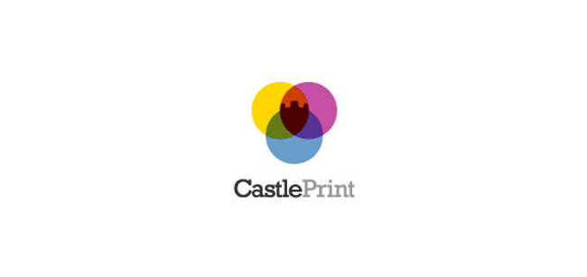 colorful logos Castle Print 100+ Collection of Creative Colorful Logos