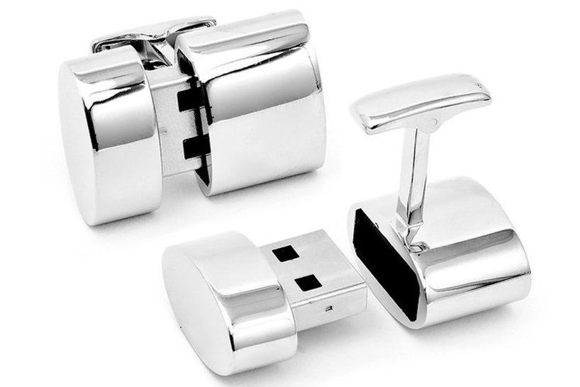 cufflinks01 Secret Agent Wifi Cuff Links