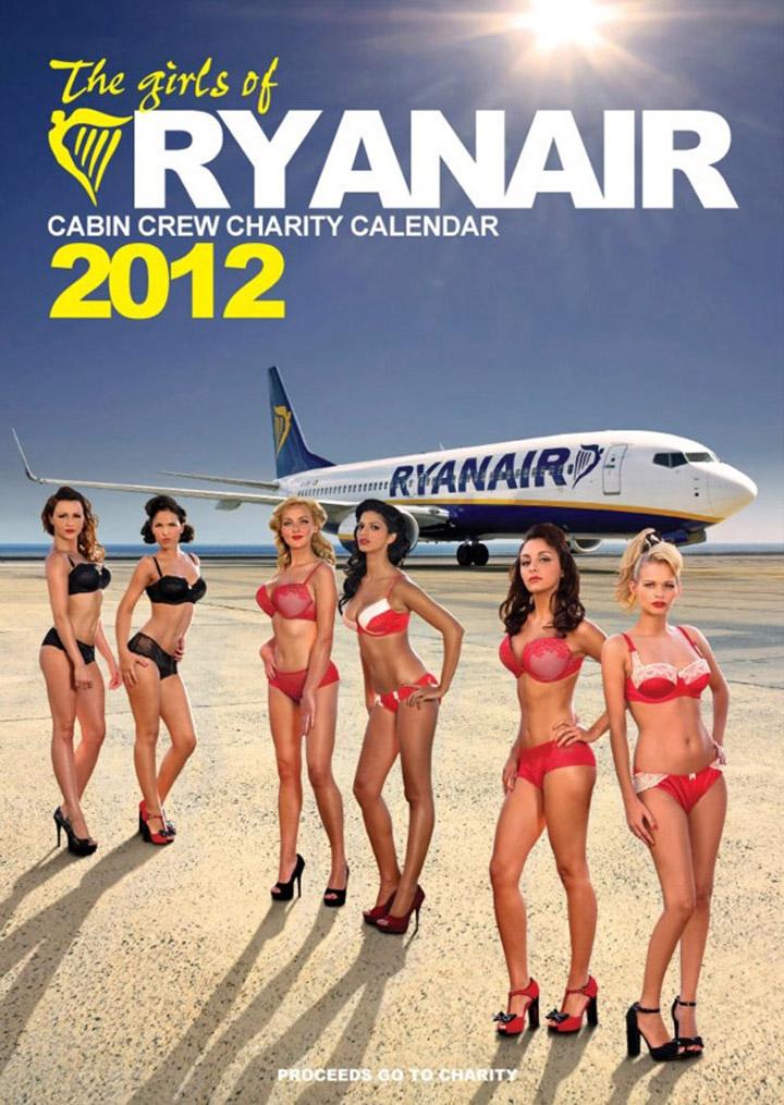 feeldesain ryanair calend Ryanair Hostess Calendar 2012